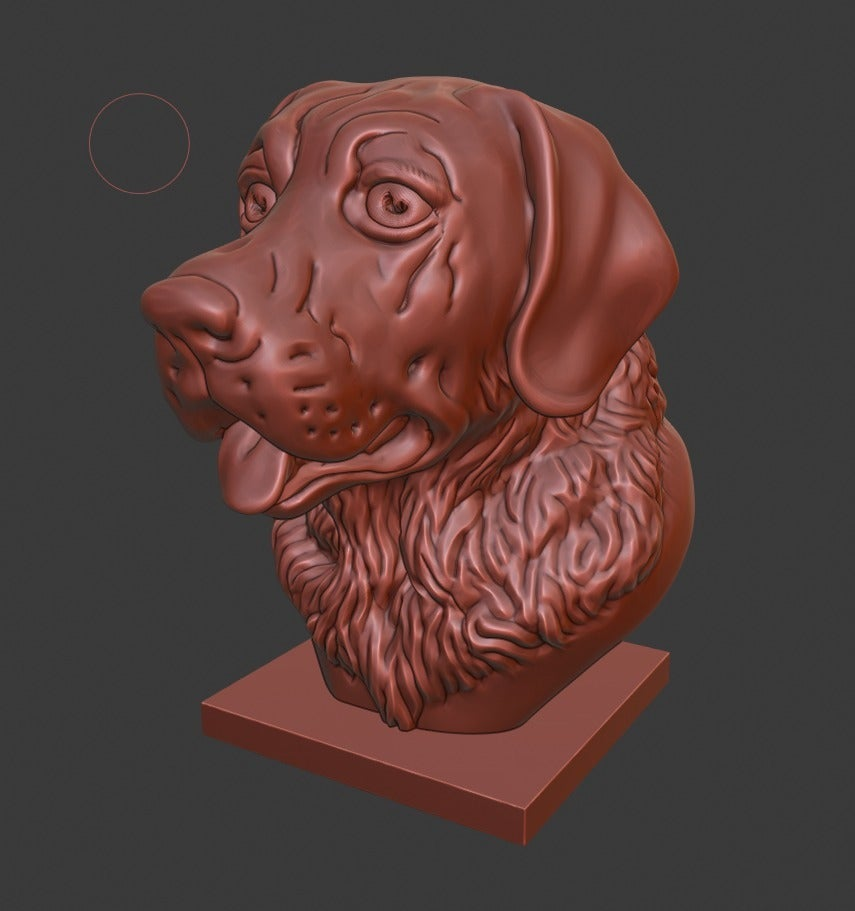 9516d908ae73ec57420202aa5b3af8c8_display_large.jpg Download free STL file Labrador Retriever bust (Dog head) • 3D printable object, Boris3dStudio