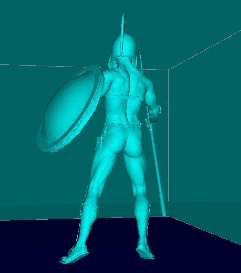 9ad4771b4e77a8be568692ccfdad7f09_display_large.jpg Télécharger fichier STL gratuit Guerrier SPARTA • Modèle pour impression 3D, Boris3dStudio