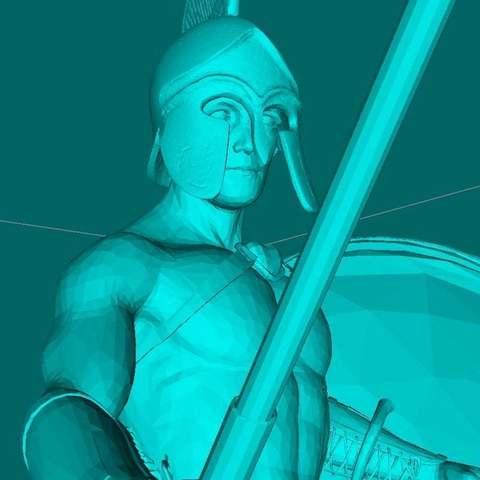 7533d9024e5045c3a2908ad9e95d2eae_display_large.jpg Télécharger fichier STL gratuit Guerrier SPARTA • Modèle pour impression 3D, Boris3dStudio