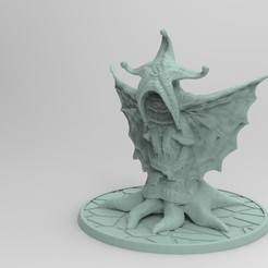 untitled.154.jpg Download free STL file Elder Thing Miniature • Model to 3D print, Boris3dStudio