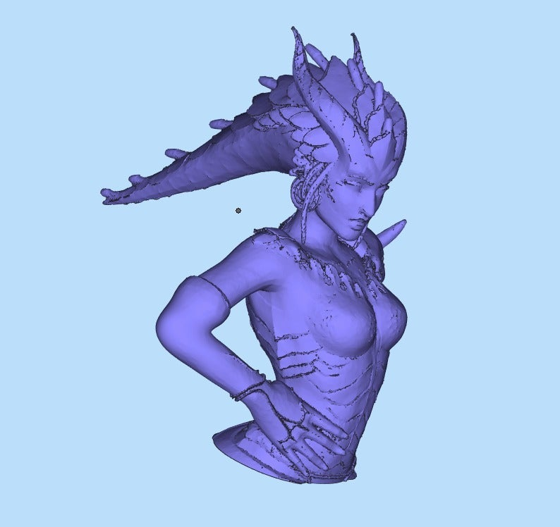 07c1dff37056f271abe5a9019ad9c622_display_large.jpg Download free STL file Symmetra demon (Dragon) skin cuted and fixed for print • 3D print template, Boris3dStudio