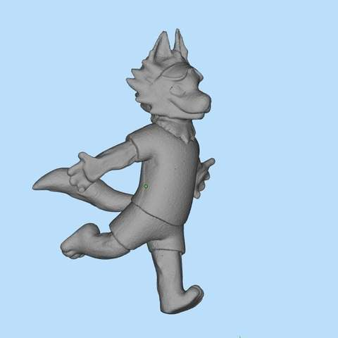 Download free 3D printer files Zabivaka official mascot of the 2018 FIFA World Cup, Boris3dStudio