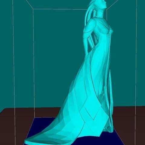 Download free 3D printing designs Asari alien girl, (ready for print), Boris3dStudio