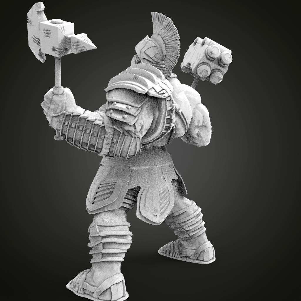 HULK1.324.png Télécharger fichier STL gratuit Hulk Ragnarek • Objet à imprimer en 3D, Boris3dStudio