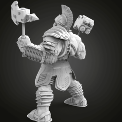 Download free STL Hulk Ragnarek, Boris3dStudio