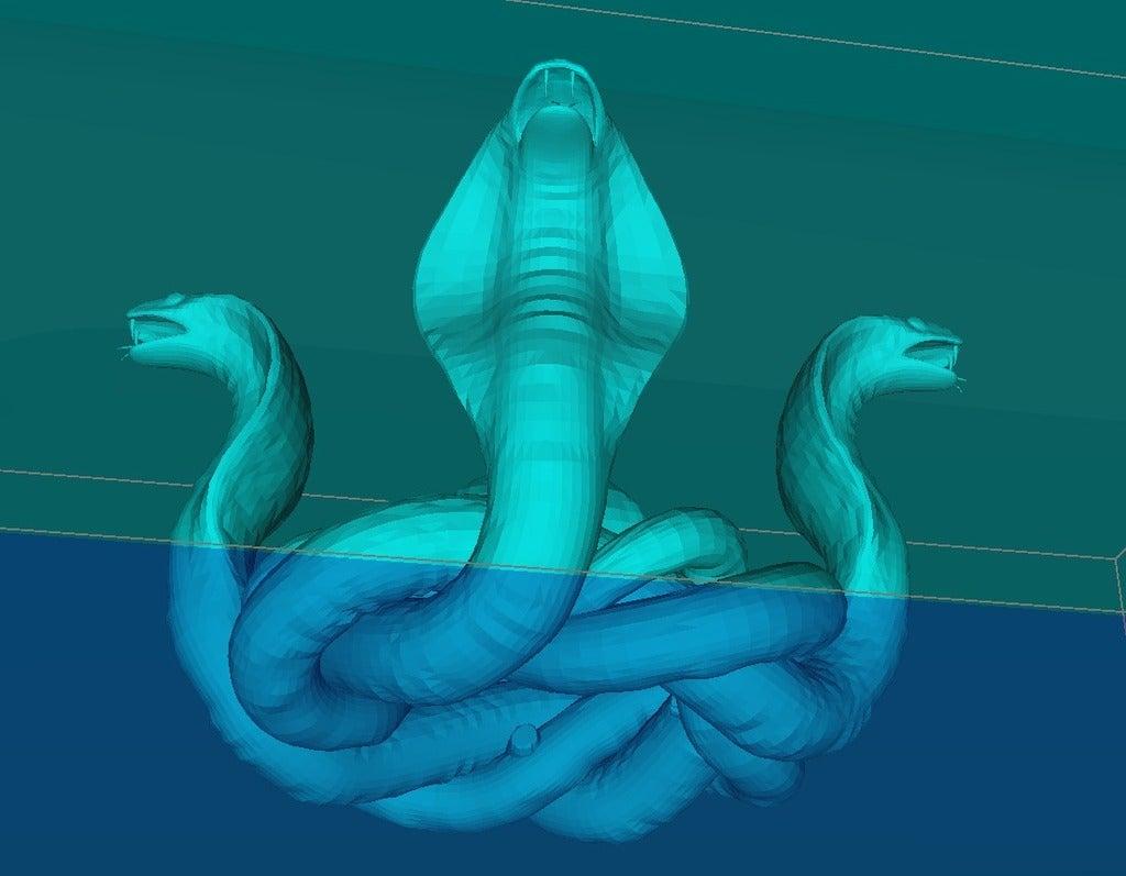 10fb15c77258a991b0028080a64fb42d_display_large.jpg Télécharger fichier STL gratuit Quatre nœuds cobra • Plan à imprimer en 3D, Boris3dStudio