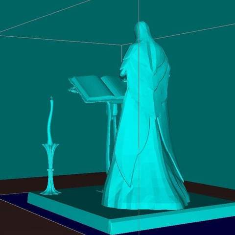 c573bd08ce4ecf6f39a631d577095917_display_large.jpg Download free STL file Female Mage Sorcerer • 3D print design, Boris3dStudio