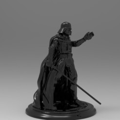Download free 3D printer designs Darth Vader, Boris3dStudio