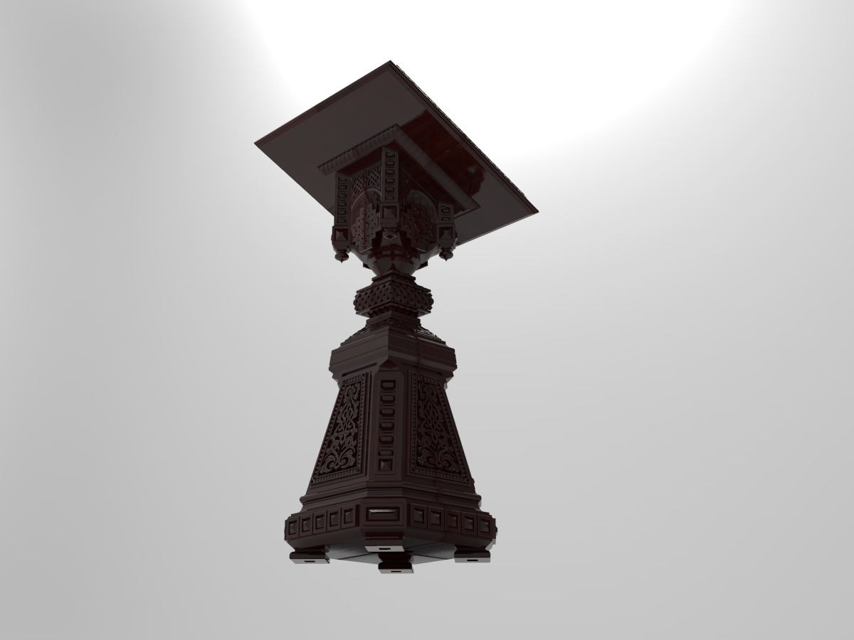 Owl_Shield.233.png Download free STL file Analogion - stand for books for priest or profet (For DND miniature and remixes) • 3D print object, Boris3dStudio