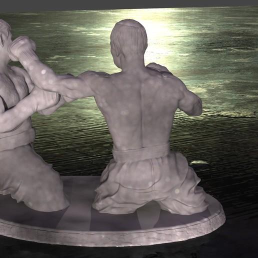 BOX2.jpg Download free STL file Putin and Tramp boxing • Template to 3D print, Boris3dStudio