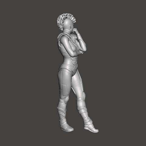 7d904bc9a71260be6bb935f384db0001_display_large.jpg Download free STL file Cyberpunk Girl • 3D printing object, Boris3dStudio