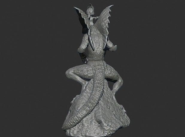 4338fb16da984f0ad045067d803f6762_display_large.jpg Download free STL file King of the Lizzard • Object to 3D print, Boris3dStudio