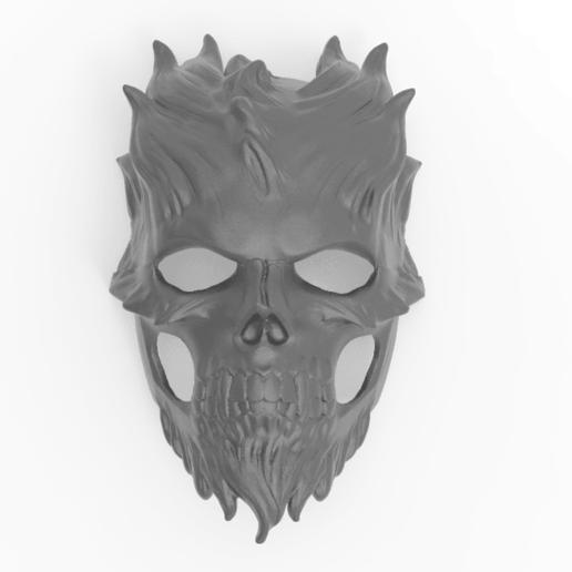 Download free STL file Krampus Demon mask • 3D print template, Boris3dStudio