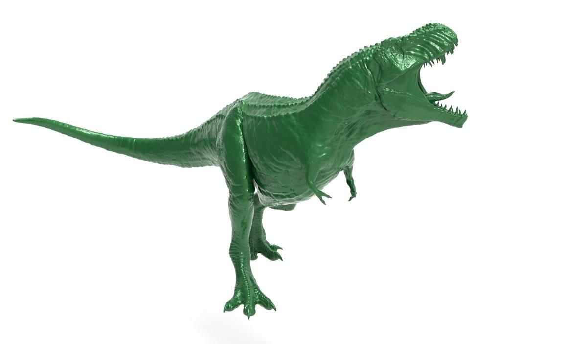 Jurassic World Morsure N lutte tyrannosaurus rex dinosaure