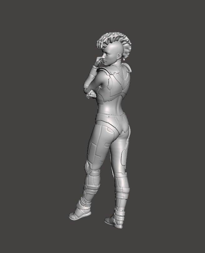 113963de888fe0719f07be0d2f5eb80b_display_large.jpg Download free STL file Cyberpunk Girl • 3D printing object, Boris3dStudio