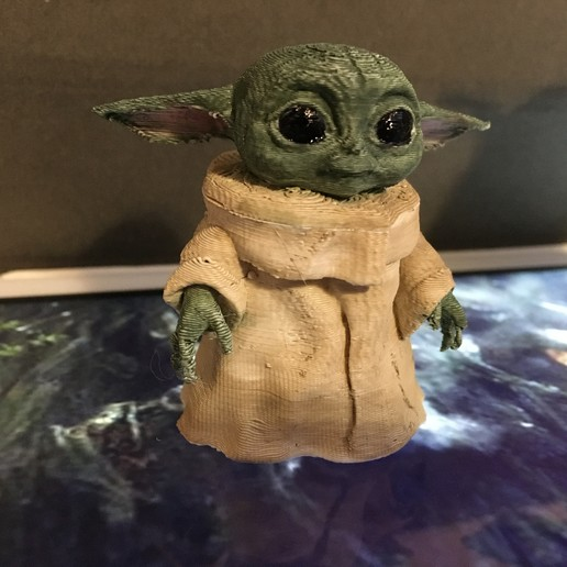 Download 3d Printing Designs The Kid Baby Yoda ・ Cults
