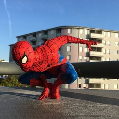 Download 3D printing models Spider-man Figure, KCmechanician