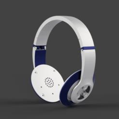 Télécharger fichier imprimante 3D Casque d'écoute, KCmechanician