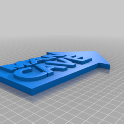 """Télécharger fichier STL gratuit Signe de flèche """"Man Cave • Plan pour imprimante 3D, primejason"""