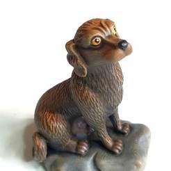 Download free STL files dog sculpture 3d model, michael_k_69