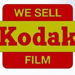 Télécharger fichier STL gratuit Kodak Sign - Photographie Analogique, Raketentriebwerk