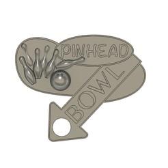 PINHEAD BOWL 2.jpg Télécharger fichier STL PANNEAU DE BOL À TÊTE D'ÉPINGLE • Modèle pour imprimante 3D, skull13studio