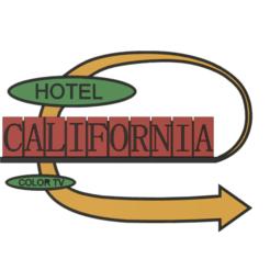 Download STL file retro Hotel California sign • Design to 3D print, skull13studio