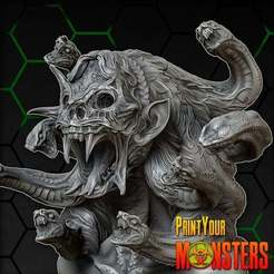 Download free 3D printing designs MEDUSA, PrintYourMonsters