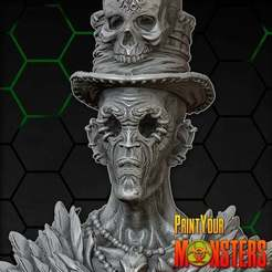 Download free 3D printer designs VOODOO SORCERER, PrintYourMonsters