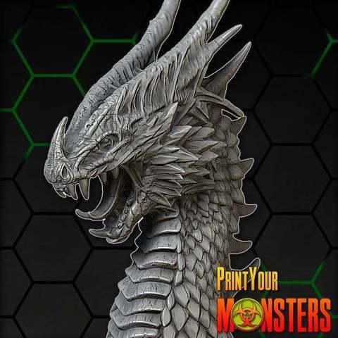 Télécharger plan imprimante 3D gatuit DRAGON I, PrintYourMonsters