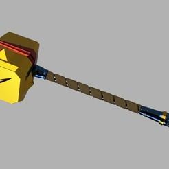 bastion_hammer_2020-Jun-17_01-15-23PM-000_CustomizedView35843391852_jpg.jpg Télécharger fichier STL Marteau de Cael • Objet pour imprimante 3D, glargonoid