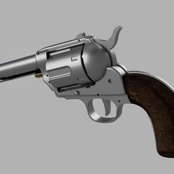 Download free STL files Revolver working model, glargonoid