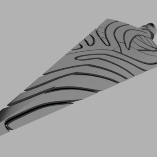 Hollow_knight_nail_2020-Feb-24_11-14-23AM-000_CustomizedView6056704684_jpg.jpg Download STL file Hollow Knight Pure Nail • 3D printable object, glargonoid