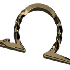 Download 3D printing designs God of War weapon holder ring, glargonoid