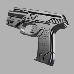 Télécharger objet 3D Pistolet Arclight Energy de Star citizen, glargonoid