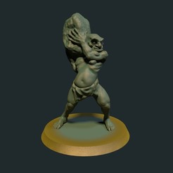Troll.jpg Download STL file Troll (no supports required) • 3D print model, briteminis