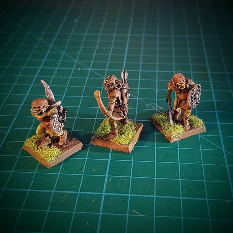 Download free 3D printing templates Goblins! 28mm, no supports, briteminis