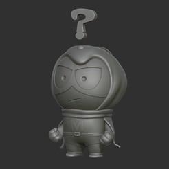 Télécharger plan imprimante 3D Mysterion de South Park, 02_mm