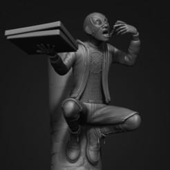 111.jpg Télécharger fichier STL L'homme araignée Miles Morales • Plan pour imprimante 3D, 02_mm