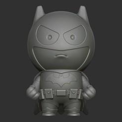 Download 3D printer model Mini Batman, 02_mm