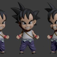 Descargar archivos 3D Pequeño Goku, 02_mm