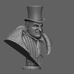 Download 3D printing models Penguin from Batman returns, 02_mm