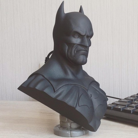 Download 3D printer designs Batman bust, 02_mm