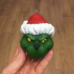 Download 3D printer templates Grinch Christmas toy, 02_mm
