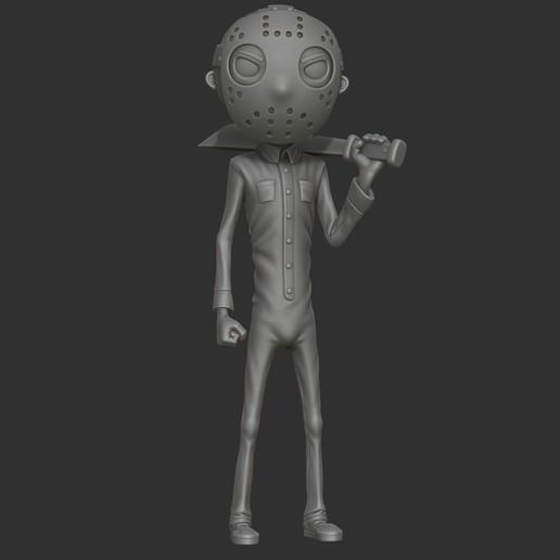 Télécharger fichier impression 3D Jason du vendredi 13., 02_mm
