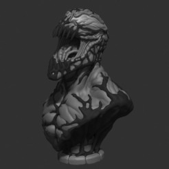 Download STL file Carnage bust, 02_mm