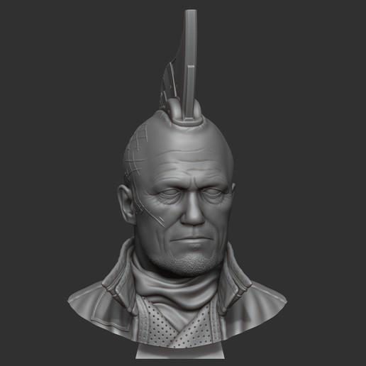 Download 3D printer files Yondu Udonta bust, 02_mm