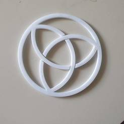 20200310_090000.jpg Download free STL file Trinity Knot • Object to 3D print, hmartinileo