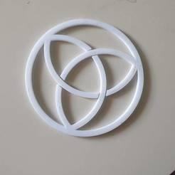 20200310_090000.jpg Télécharger fichier STL gratuit Nœud de la Trinité • Plan à imprimer en 3D, hmartinileo