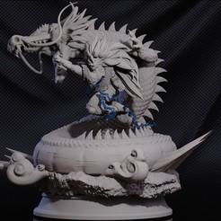 goku.15.jpg Download STL file Goku SSJ 3 • 3D printer model, ThunderToy